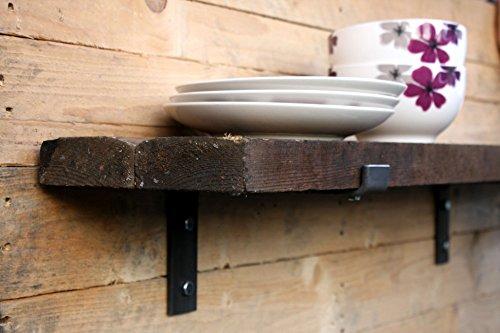 Ripiani In Legno Grezzo : Mensole quadrate scaffali in legno di paulonia grandi sconti