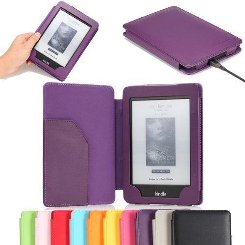 MoKo Kindle Paperwhite Funda - PU Cuero Cover Case