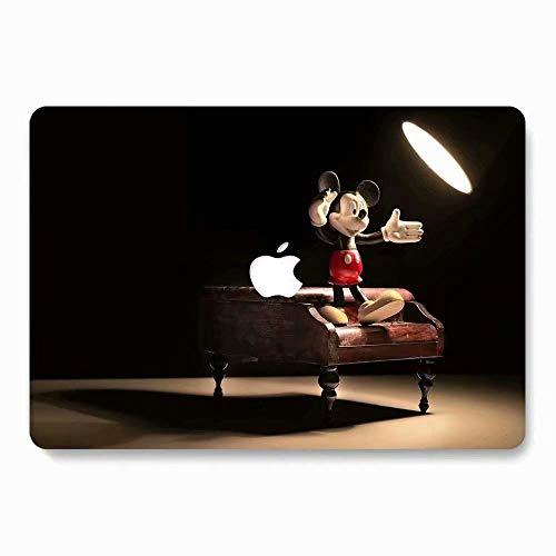416bwaFvwqL - AQYLQ Funda Dura para MacBook Air 13 Pulgadas (A1369 / A1466), Ultra Delgado Carcasa Rígida Protector de Plástico Cubierta - Disney Mickey