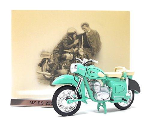 Atlas Modellmotorrad DDR 1:24 Motorrad MZ ES 250 grün