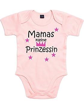 WarmherzIch Baby Body Mamas Papas kleiner Prinz kleine Prinzessin Strampler Bodysuit liebevoll bedruckt