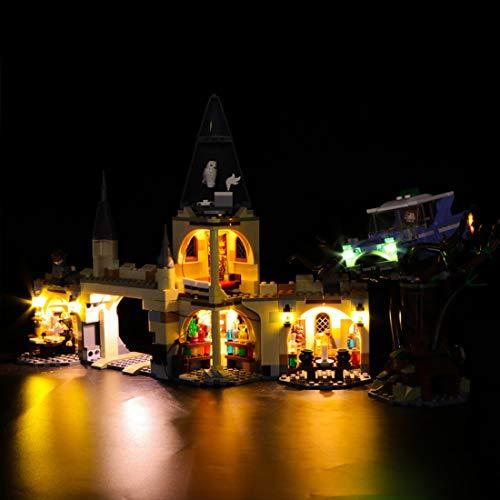 YVSoo LED Licht-Set für Baustein Spielzeug LED Beleuchtung Kit für Lego Harry Potter und die Kammer des Schreckens - Modell Nicht Enthalten (Lego-harry-potter-kits)
