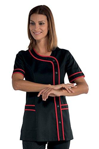 Robinson Damen Kasack BRASILIA schwarz / rot (XL)