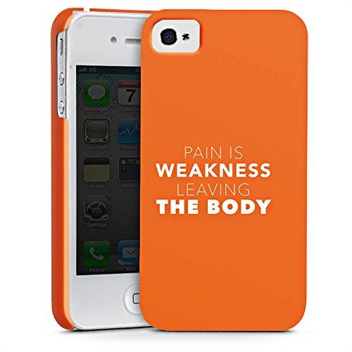 Apple iPhone X Silikon Hülle Case Schutzhülle Sprüche Workout Motivation Premium Case glänzend