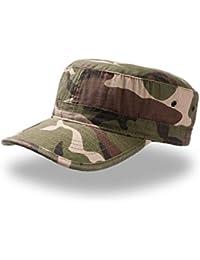 Cappellino Uomo Donna Berretto Stile Militare 100% Cotone Morbido Atlantis  Army 9e5d81ff0945