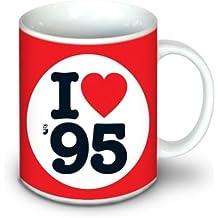 1995 DEL REGALO di Compleanno - Amo 1995 Boccale - Tè o Caffè - 10 once