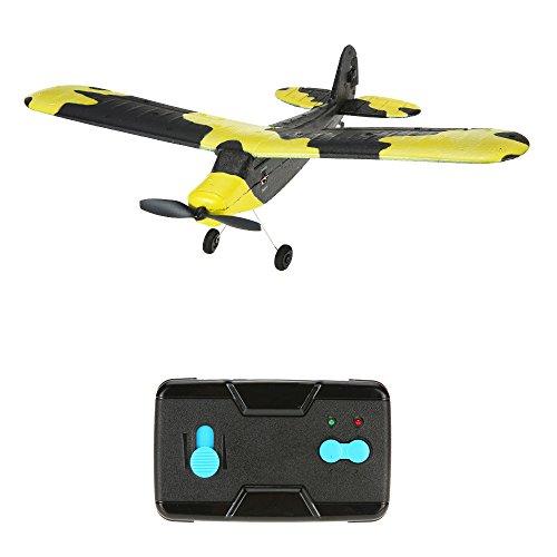 Goolsky TECHBOY TB-366 2.4G 2CH teledirigido RC aeroplano 345mm enano EPP mini zorro de planeador Drone