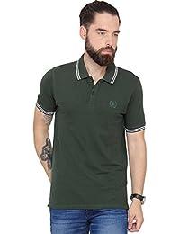 Urban Nomad Dark Green Cotton T-shirt