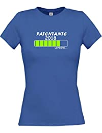 Shirtinstyle Lady-Shirt Patentante 2018 Loading. Viele Farben, Größen XS-XL