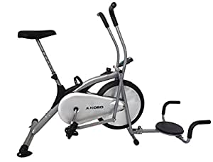 Kobo AB-4 Exercise Bike (Silver)