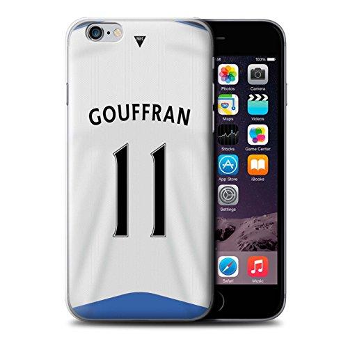 Offiziell Newcastle United FC Hülle / Case für Apple iPhone 6+/Plus 5.5 / Pack 29pcs Muster / NUFC Trikot Home 15/16 Kollektion Gouffran