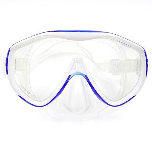 Whale Taucherbrille, Schnorchel Maske, Schnorcheln Scuba Dive Brille, PC Rahmen gehärtetes Glas...