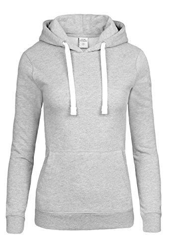 Casual Standard I Damen Hoodie I Frauen Pullover I Mädchen Kapuzenpullover I Ladies Sweater grau S small
