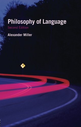 Philosophy of Language (Fundamentals of Philosophy)