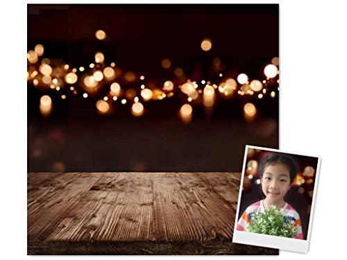 Waw 3x3m Studio Fotografie Hintergrund Braun Glitzer Neonlicht Hintergründe Kulisse Fotohintergrund Rustikal Holzboden Hintergrund Fotowand Hochzeit