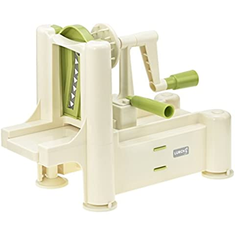 Lurch Spirali 10203 - Cortador de verduras ( color beige y verde)