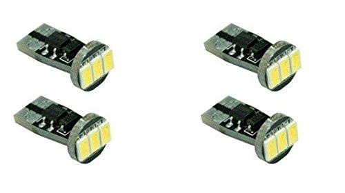 PA 4 pièces 3-5630 Auto véhicule Intérieur carte lampe de lecture Hi Blanc Lumineux ampoules LED Couleur 168 2825 T10 194