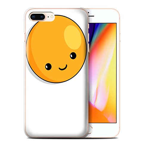 Stuff4 Hülle / Case für Apple iPhone SE / Apfel Muster / Kawaii Essen Kollektion Spiegelei