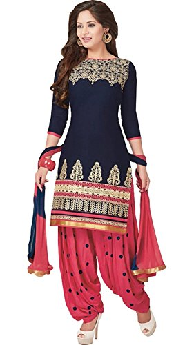 Market Magic World Women\'s Printed Unstitched Regular Wear Salwar Suit Dress Material(3001)