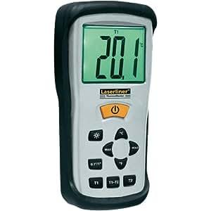 Laserliner 082.035A–environnement thermomètres (Digital, rectangulaire)