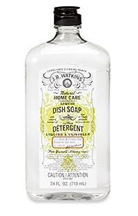 J.R. Watkins Liquid Dish Soap, Aloe and Green Tea, 24 Fluid Ounce