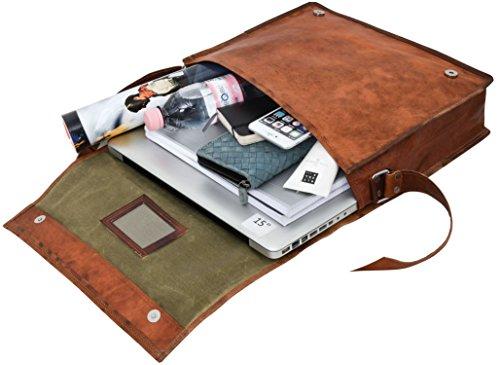 """b11e1147a2 ... Cuoio Gusti Pelle nature """"Max"""" Borsa Per l'Università College spaziosa  Pratica Per Laptop lavoro scuola marrone vintage particolare U4. 🔍. Viaggi  - ..."""