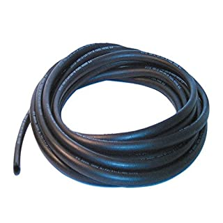 8mm ID Black 2 Metre Length Fuel and Oil Resistant Rubber Hose - AutoSilicone.