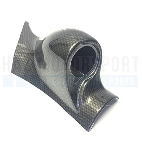 Pour VW Golf MK4/Seat Leon MK1Support pilier Gauge Pod 52MM Noir ou style carbone HR Drive