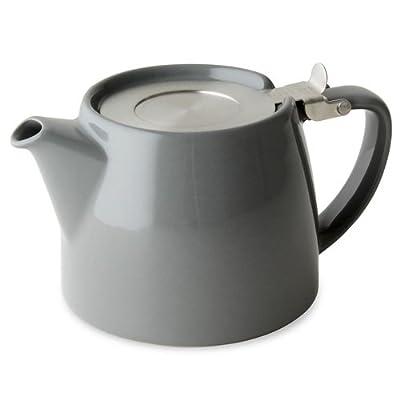 Forlife théière avec infuseur, grise, contenance 530 ml (2 tasses)