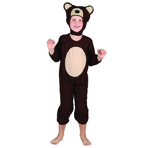 Bär - Kinder Kostüm - Kleinkind - 90 bis 104cm (Bär Kostüme Kleinkinder)