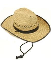 Paille Naturelle-Chapeau de Cowboy.