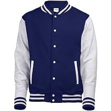 Chaqueta colegial Urban Classics 2 Tonos universitaria. Varsity jacket