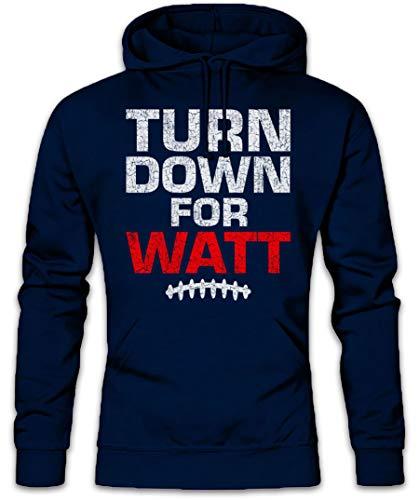 Urban Backwoods Turn Down for Watt Hoodie Kapuzenpullover Sweatshirt Größen S - 2XL