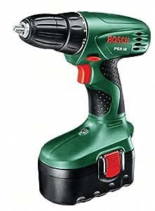 Bosch PSR 18 Pistol grip drill Lithium-Ion (Li-Ion) 1700g Black,Green - Cordless Combi Drills (Pistol grip drill, Drilling, Screwdriving, Black, Green, 8 mm, 2.8 cm, 1 cm)