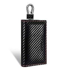 Keyless Go Schutz Autoschlüssel Tasche Mini RFID Kreditkarten Datenschutz Etui Tragbar Signale Abschirmung für BMW Audi VW Mercedes Volvo Auto & Motorrad Funkschlüssel Car Key Signal Blocker 1pcs