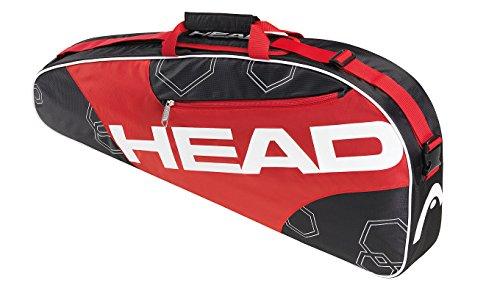 Head Elite Pro 3er Tennistasche für 3 Schläger red/black/white