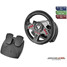 Subsonic Universal Racing Wheel with Pedals (PS4/Slim/Pro/Xbox One/S/PS3)