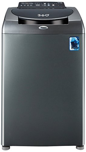 Whirlpool 8 kg Fully-Automatic Top Loading Washing Machine (360 Degree Bloomwash Ultimate Care 8.0, Graphite)