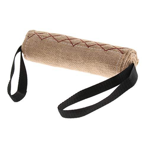 KESOTO Beisswurst Beissrolle Leinwand Trainingsdummy Mit 2 Griffe für Hundetraining - S
