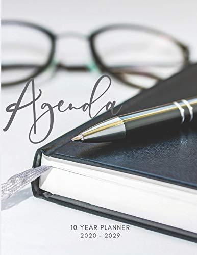 2020-2029 10 Ten Year Planner Monthly Calendar Agenda Goals Schedule Organizer: 120 Months Calendar; Appointment Diary Journal With Address Book, ... Notes, Julian Dates & Inspirational Quotes -