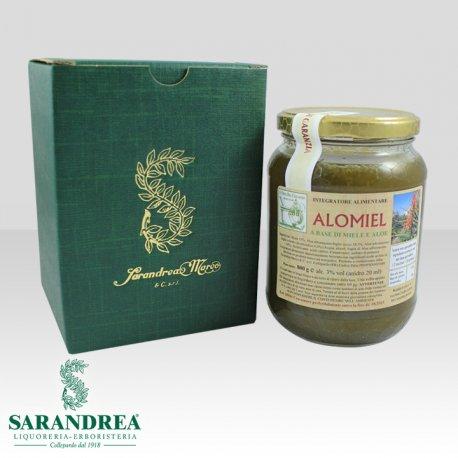 Alomiel Aloe arborescens Preparato con metodo di Padre Zago 800 g
