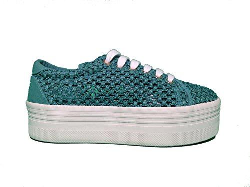 Sneaker JC Play Zomg Mesh Green White