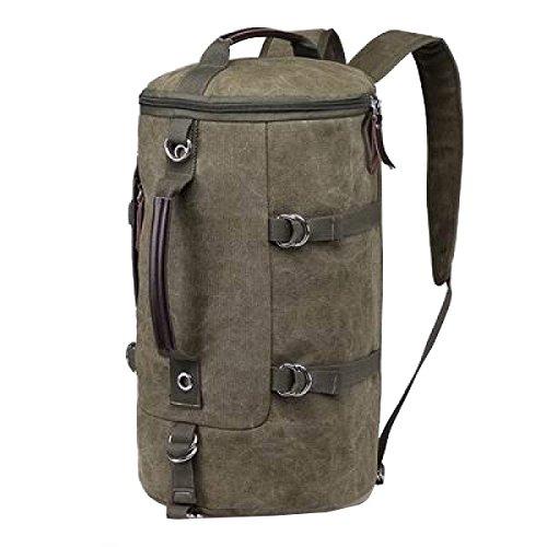 LAIDAYE Außentaschen Reisetaschen Einkaufstaschen Bulk Taschen Handtaschen Schultertaschen Messenger Bags Sporttaschen Green