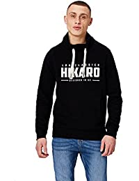 HIKARO Sweat-Shirt Col Cheminée Homme