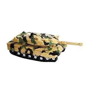 Anik-Shop Army Panzer mit Licht & Sound Tank Kriegspanzer Militärpanzer Spielzeugpanzer 04