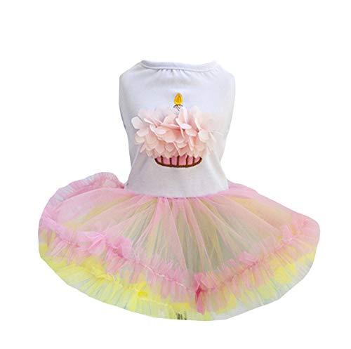 Kostüm Doll Cute - Lisay Baumwollkleidung Warme Haustierkleidung Hund Spitzekleidung Teddy Cute Strickwaren Perlenkragen Kleid Doll Mädchen Mantel