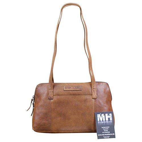 My-Musthave, Sac pour femme à porter à l'épaule Marron marron Centre