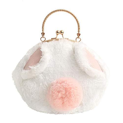 LANDONA Ursprüngliche weibliche Tasche süße Flauschige Kätzchen Pack Mini Paket Kleine Schulranzen Mund Gold Paket Mädchen -