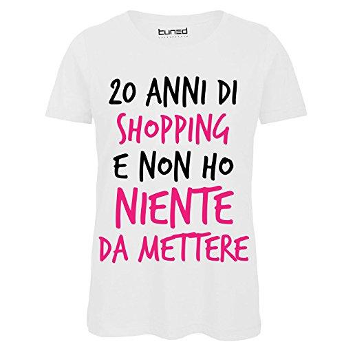 100Cotone T Stampa Shirt Donna Frasi Divertente Con 20 Maglietta jL4Aq35R