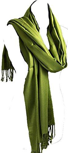 Echarpe femme couleur 100% pur cachemire - Frais d'emballage et postaux gratuits